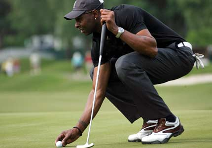 jerry rice golfing